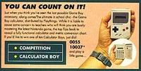 Nintendo Calculator Boy