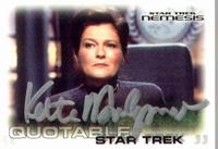 Star Trek Nemesis - Kate Mulgrew