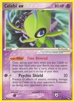 Pokemon POP2 Celebi ex