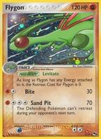 Pokemon POP4 Flygon (holo)