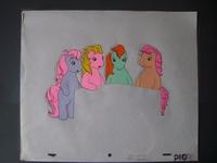 My Little Pony - originele animatie productie cel 1