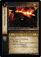 LotR Mines of Moria - The Balrog's Sword