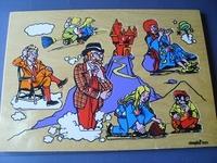 Tita Tovenaar - houten puzzel