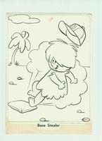 Hanna & Barbera studio - originele tekening (Flintstones) #3
