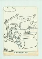 Hanna & Barbera studio - originele tekening (Flintstones) #4