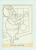 Hanna & Barbera studio - originele tekening (Jetsons) #1