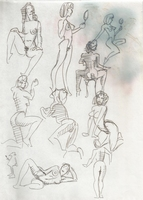 Original Erotic 1970's art by George Martin #02