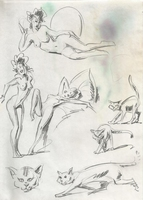 Original Erotic 1970's art by George Martin #03