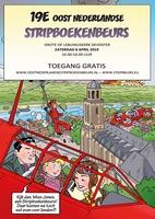 Oost Nederlandse Stripboekenbeurs 7 april 2018