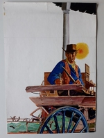#11. Original Cover painting Western novel Oeste #321