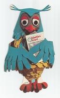 Fabeltjeskrant kartonnen snoep-figuur Mijnheer de Uil