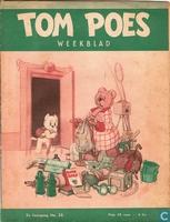 Tom Poes weekblad 2e jaargang nummer 35