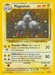 Pokemon Base Set Magneton (holo)