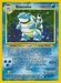 Pokemon Base Set Blastoise (holo)
