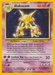Pokemon Base Set Alakazam (holo)