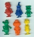 Complete set Hanna Barbera mini figuren jaren 70