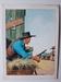 #24. Original Cover painting Western novel Colt45 #5