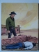 #65. Original Cover painting western novel Caravana #217