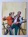 #83. Original Cover painting western novel Gran Canon #23