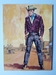 #93. Original Cover painting western novel Extra Oeste #1202