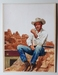 #137. Original Cover painting Western novel ExtraOeste #1267