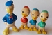 Donald Duck en neefjes piep-figuren 1964