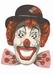 Pipo de Clown kartonnen kinder-masker